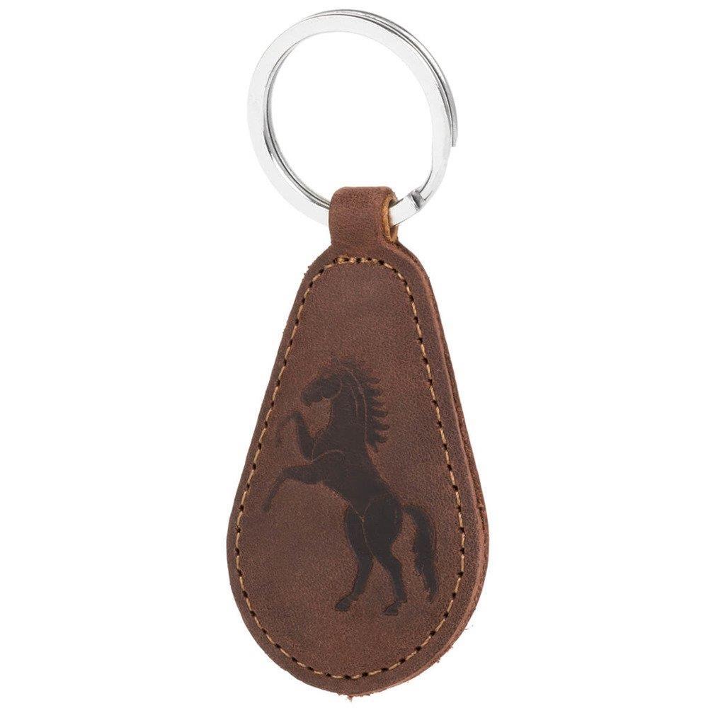 Belt case - Nubuck Nut brown - Horse