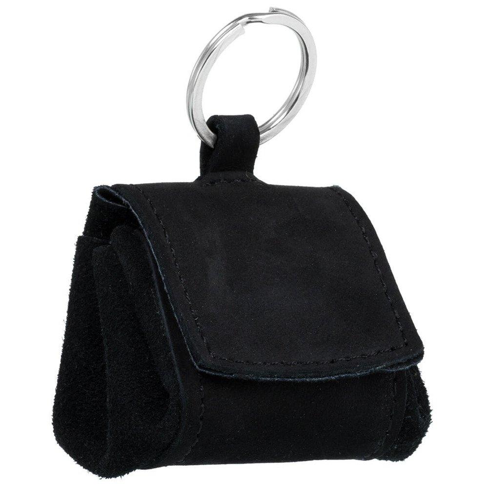 Coin Pouch - Nubuck Black