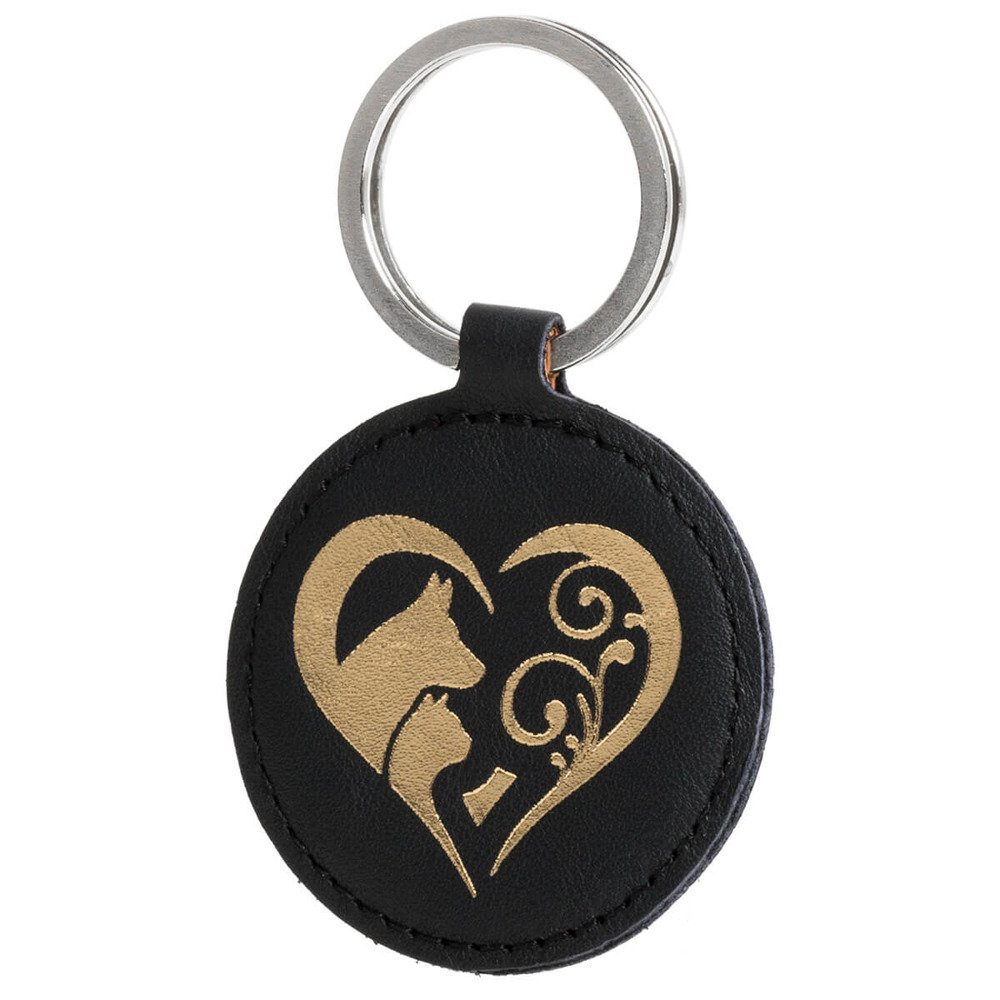 Keychain - Costa Black - Animal Love Gold