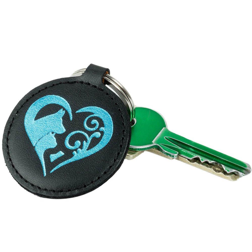 Keychain - Costa Black - Animal Love Turquoise