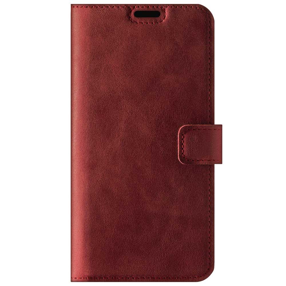 RFID Wallet case - Nubuck Red