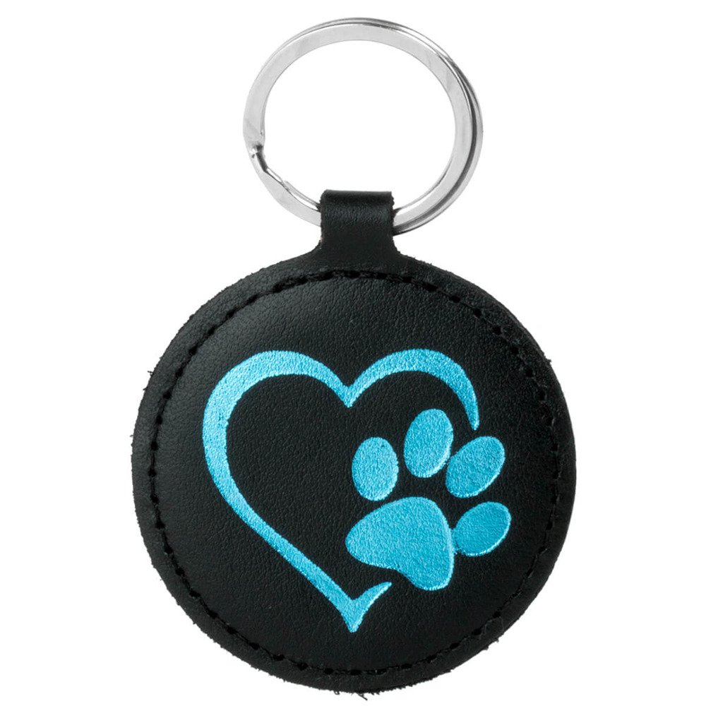 Smart magnet RFID - Costa Black - Turquoise Paw in Heart