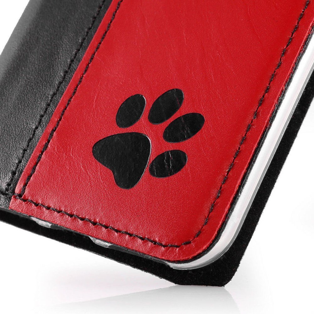 Smart magnet RFID - Costa Black and Red - Paw Black