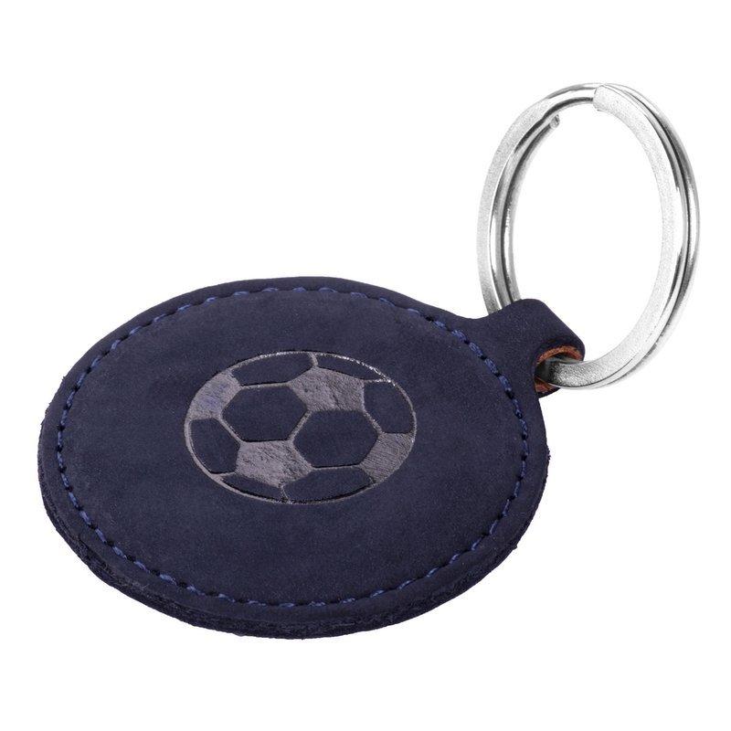 Smart magnet RFID - Nubuck Navy blue - Soccer ball