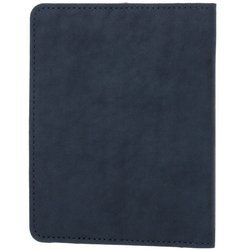 Slim Bifold Geldbörse RFID - Nubuk Marineblau