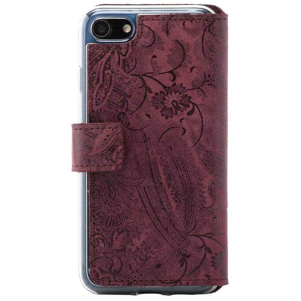 Slim cover - Ornament Burgund