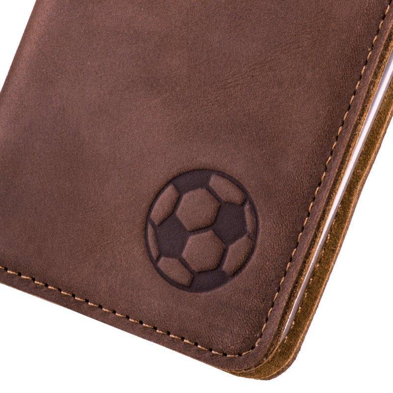 Smart magnet RFID - Nubuk Orzechowy - Piłka nożna