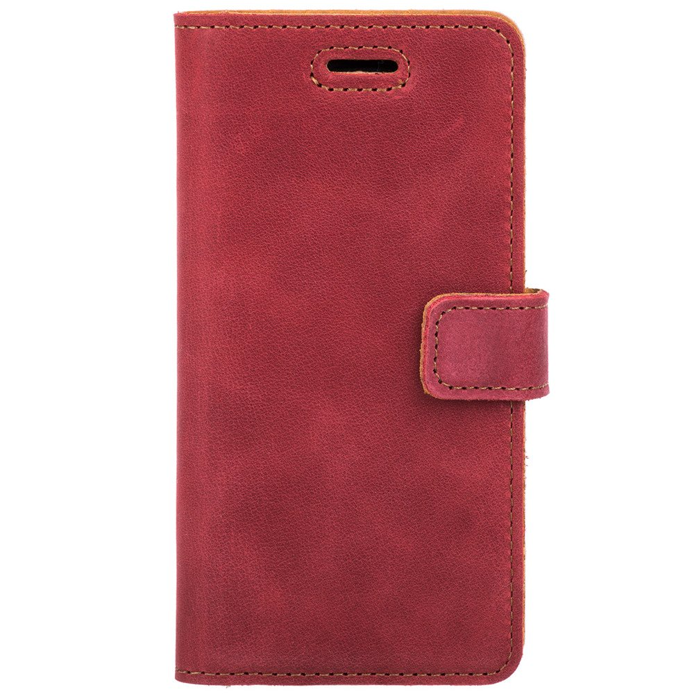 Wallet case - Nubuk Czerwony