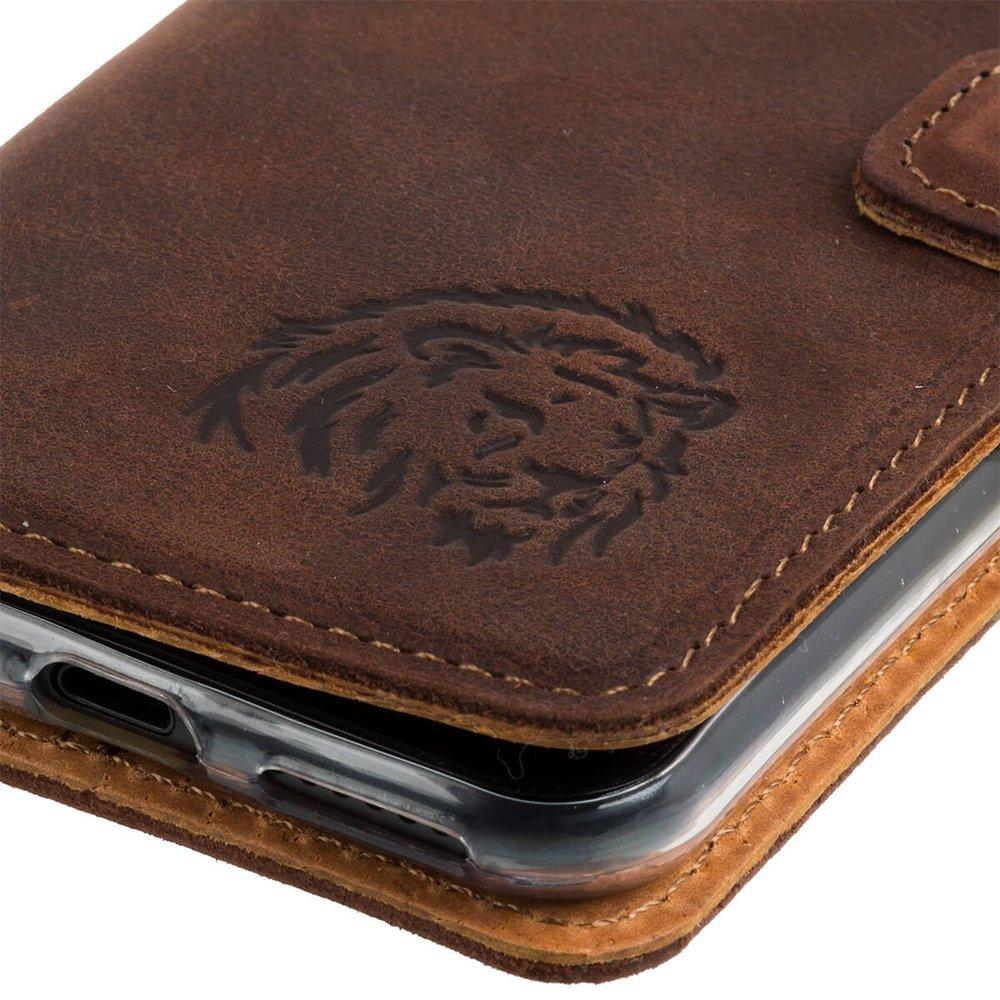 Wallet case - Orzechowy - Lew