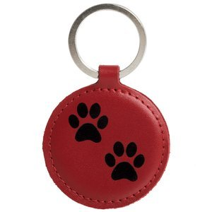 Brelok na klucze - Costa Red - Dwie Łapy Czarne